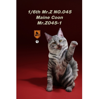 Chat Maine Coon (Gris)