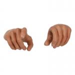 Paire de mains homme européen