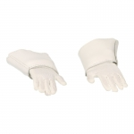 Flexible Gloved Hands with Plastron (White)