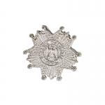 Diecast Plaque De Grand Croix De La Légion d'Honneur Badge (Silver)