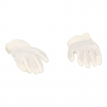 Flexible Gloved Hands (Blanc)