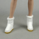 Female Suede Boots (White)
