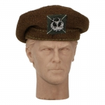 Chapeau Black Watch Tam O' Shanter Gordons Bydand (Marron)