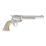 Single Action Army Colt Cavalry Revolver (Silver)