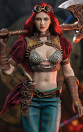 Steam Punk Red Sonja