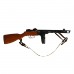 Diecast PPSH 41 Submachinegun (Black)