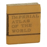 Livre Imperial Atlas Of The World (Marron)