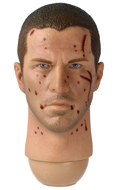 Headsculpt Christian Bale Battle Damaged