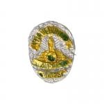 Insigne de Police (Argent)
