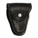 Basketweave Handcuffs Pouch (Black)