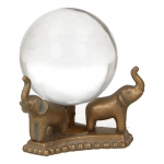 Crystal Ball with Base (Transparent)