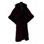 Velvet Wizard Coat (Purple)