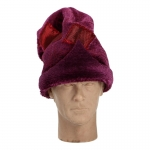 Velvet Wizard Hat (Purple)