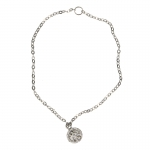 Necklace with Pendant (Grey)
