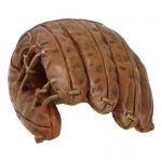 Baseball Glove with Hand (Brown)