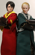 Harry Potter - Harry Potter & Draco Malfoy 2.0 Pack (Quidditch Version)