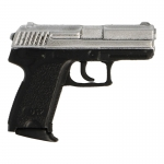 HK USP Pistol (Silver)