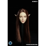 Asian Female Headsculpt with Elf Ears