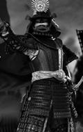 Series Of Empires - Black Cattaill Armor Of Oda Nobunaga Set (Legendary Version)