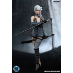 Set Nier Warrior Girl Femme (Bleu)