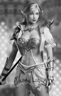 Female Lineage Elf Set (White)