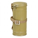 M38 Gas Mask Canister with Gas Cape Pouch (Sand)