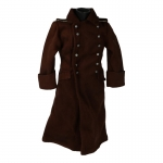 Manteau tropical en velours (Marron)