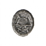 Diecast 1939 Wounded Badge (Grey)