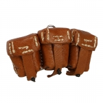 Kar98 Leather Ammo Pouches (Brown)