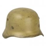 Diecast Worn M40 Helmet (Sand)