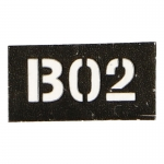 B02 Patch (Black)