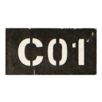 C01 Patch (Black)