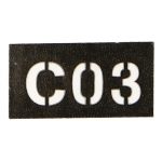 Patch C03 (Noir)