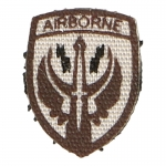 US Airborne Patch (Brown)