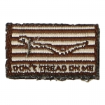 Don't Thread On Me Patch (Brown)