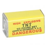Pain de TNT 0,5 Oz (Jaune)
