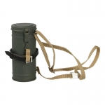 Gas Mask Canister with Anti-Gas Cape Pouch (Olive Drab)