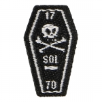 Patch Sons Of Liberty Boston Massacre Coffin (Noir)