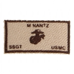 USMC M. Nantz Patch (Beige)