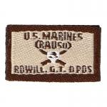 Patch patronymique USMC Rowill GT (Beige)