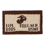 USMC Lance Corporal Fort MH Patch (Beige)