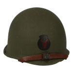 Casque M1 442nd Infantry Regiment en métal (Olive Drab)