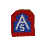 5th Army North Patch (Blue)