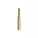 Cartouche 7,62mm en métal (Or)