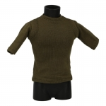 T-shirt with Shoulders Padding (Olive Drab)