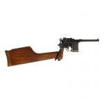 Mauser C96 Pistol with Stock (Black)
