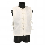 Gilet traditionnel asiatique (Blanc)