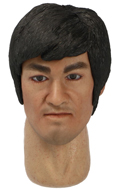 Bruce Lee Headsculpt with Movable Eyes
