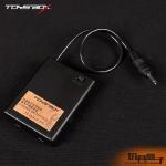 LED Light Up Battery Case (Black)