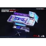 Workshop Scene Test Desk 3.0 à LED (Bleu)